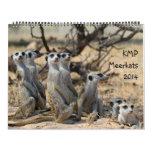 KMP Meerkats - 2014 Calendar