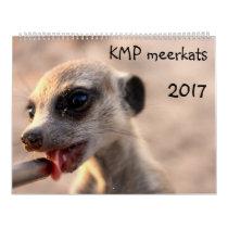 KMP Meerkats - 2017 Calendar