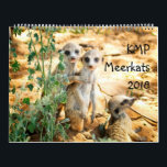 "KMP Meerkats - 2018 Calendar<br><div class=""desc"">The KMP researchers, volunteers and Friends visitors again contributed last year&#39;s most awesome, amazing, impressive and sweet KMP meerkat photos for our 2018 calendar!!! Lots of pups (including both Whiskers litters of the year), legendary meerkats like Swift (dominant female at Whiskers) and Egg (dominant female at Van Helsing) or an...</div>"