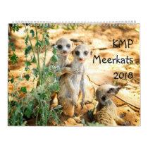KMP Meerkats - 2018 Calendar