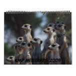 KMP Meerkats - calendario 2009