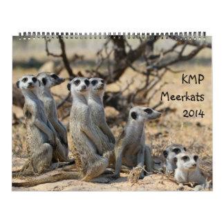 KMP Meerkats - calendario 2014