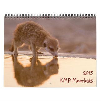 KMP Meerkats - calendario 2015