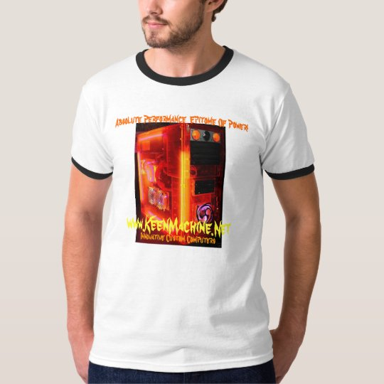 KMPC MENS ULTRAUV RING T!!! T-Shirt