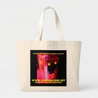 KMPCs Exclusive UtraUV Tote!!! Large Tote Bag