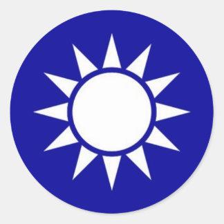 kmtsymbol round sticker