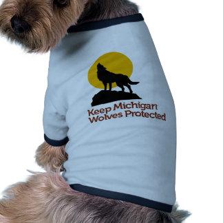 KMWP Ringer T for dogs Doggie Tee Shirt