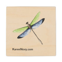 KN Dragonfly Coasters - Wooden