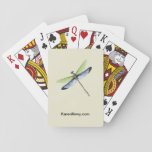 """KN Dragonfly Playing Cards<br><div class=""""desc"""">Bring this Dragonfly deck of playing cards to your next poker game!</div>"""