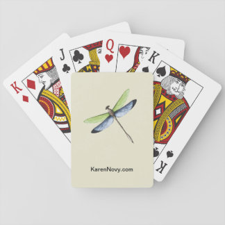 KN Dragonfly Playing Cards