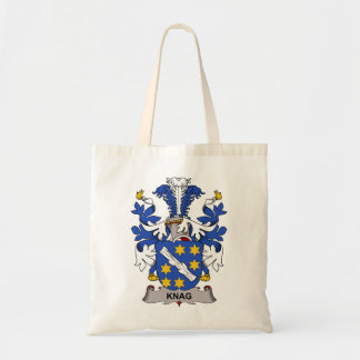 Knag Family Crest Tote Bags
