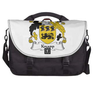 Knapp Family Crest Laptop Bag
