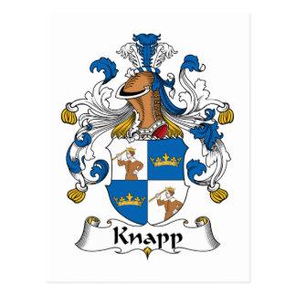 Knapp Family Crest Postcard