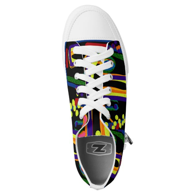 knarly tennis shoes 4 6 printed shoes zazzle