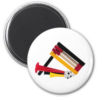Knarre and Tute 2 Inch Round Magnet
