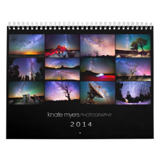Knate Myers Photo Calendar 2014