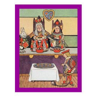 Knave of Hearts Testifies Postcard