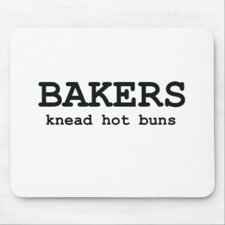 Knead Hot Buns Mouse Pad