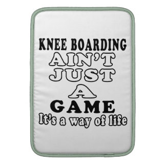 Knee Boarding Ain't Just A Game It's A Way Of Life Sleeves For MacBook Air