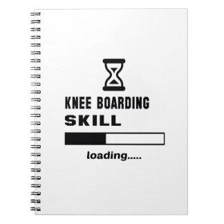 Knee Boarding skill Loading...... Notebook