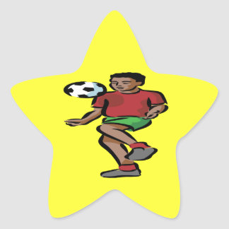 Knee Bounce Star Sticker