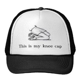 Knee Cap Trucker Hat