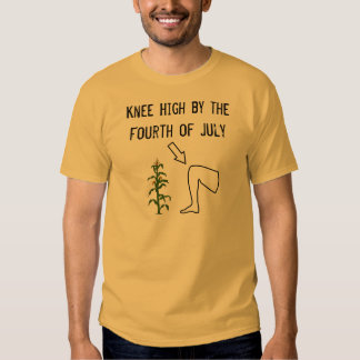 KNEE HIGH BY THE FOURTH OF JULY TEE SHIRT