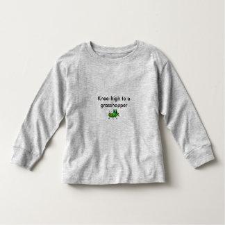 Knee-high to a grasshopper toddler t-shirt