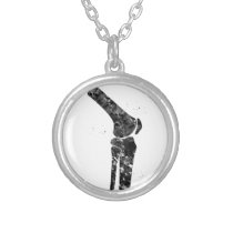 Knee Silver Plated Necklace