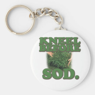 Kneel Before Sod Keychain