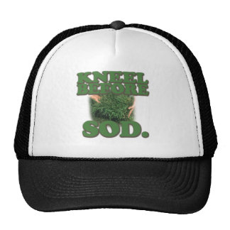 Kneel Before Sod Trucker Hat