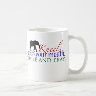 Kneel WFE Color Mug Small Logo