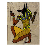 Kneeling Anubis Postcards