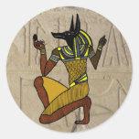 Kneeling Anubis Sticker