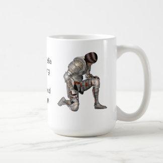 Kneeling before the WORD Coffee Mug