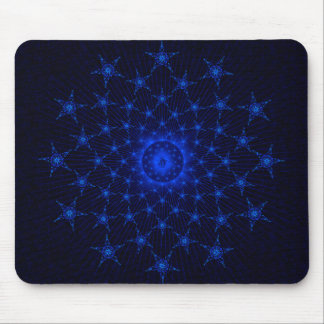 Kneeling Christ with Stars Mouse Pad