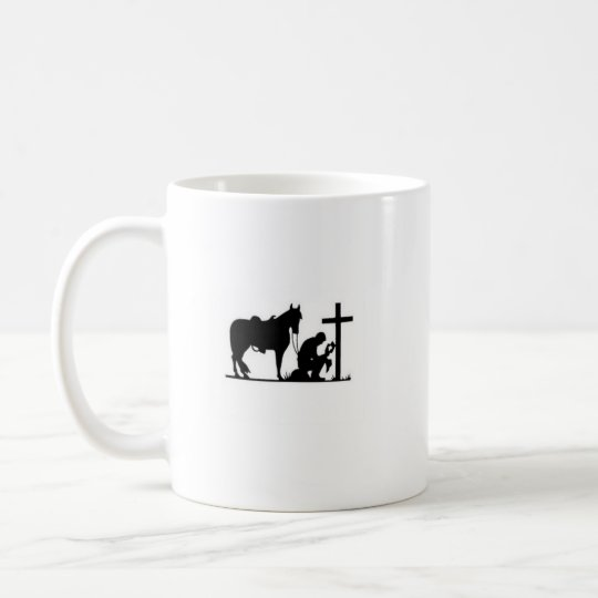 Kneeling Cowboy Coffee Mug