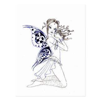Kneeling Fairy Postcard