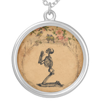 Kneeling Skeleton Necklace