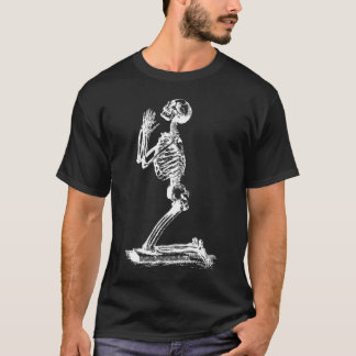 Kneeling Skeleton Shirt