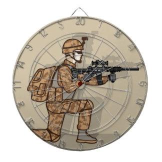 Kneeling Soldier Dartboard