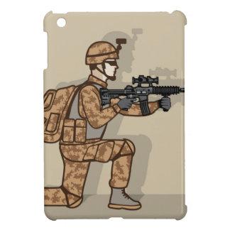Kneeling Soldier iPad Mini Covers