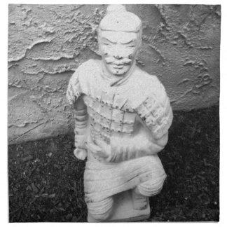 Kneeling Warrior Cloth Napkin