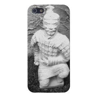 Kneeling Warrior Cover For iPhone SE/5/5s