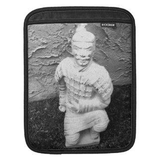 Kneeling Warrior iPad Sleeve