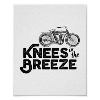 Knees in the Breeze Poster