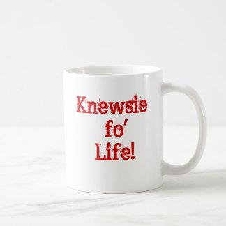 Knewsie coffee mug