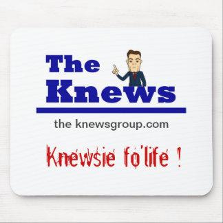 """""""Knewsie fo'life"""" Mousepad"""