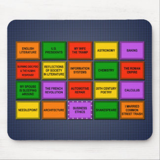 Knibb High Academic Decathlon '95 Mouse Pad