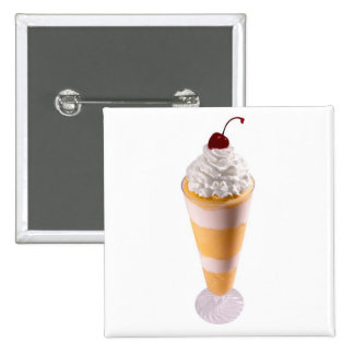Knickerbocker Glory Ice cream Button